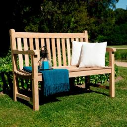 TEAK-Gartenbank Tradition, 2-Sitzer