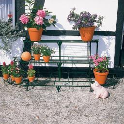 Blumeneckregal Kombi-Set, grün