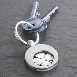 Schlüsselring Glücksklee