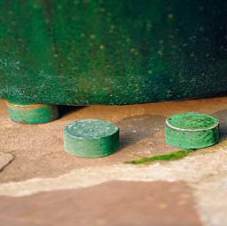 Kübelfuß rund, jade