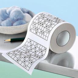 Sudoku-Toilettenpapier