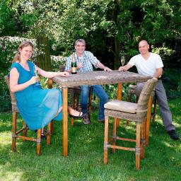 Bargruppe Promi-Treff aus Outdoor-Rattan