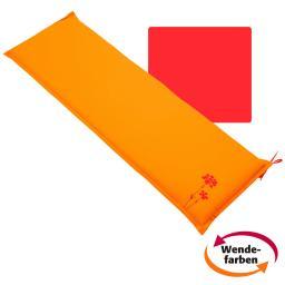 Sitzbank-Kissen Samba Anisa, 150 cm, rot/orange