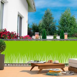 balkonsichtschutz von g rtner p tschke. Black Bedroom Furniture Sets. Home Design Ideas