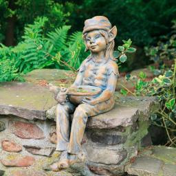 Gartenfigur Waldelfe Dreamy