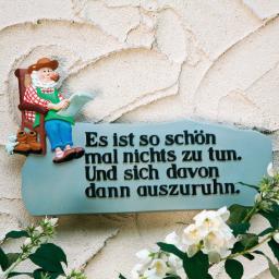 Gärtner-Schild