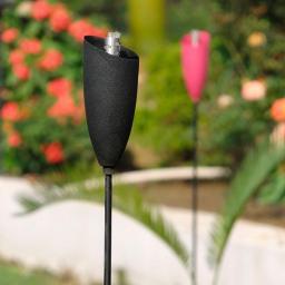 Mini-GartenFackel, schwarz