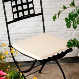 Sitzkissen für Stühle und Bänke, rechteckig