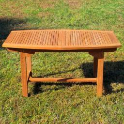TEAK-Rechteck-Auszieh-Tisch Winston