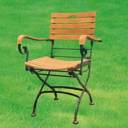 TEAK-Sessel Chelsea mit Armlehnen