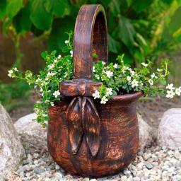 Pflanzgefäß Blumenkorb Rotkäppchen