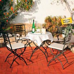 Sitzgruppe Große Runde Casablanca inkl. Auflagen