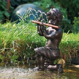 Flötenspieler Valentin