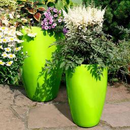 Pflanztöpfe Lemontree, 2er-Set, inkl. Bewässerungssystem
