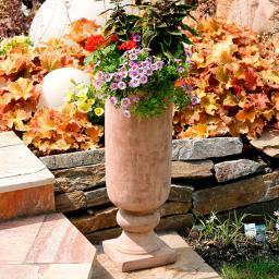 Terracotta-Pflanzpokal Hellas, groß