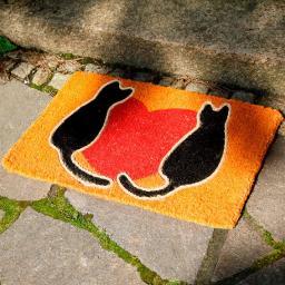 Fußmatte Lovely Cats