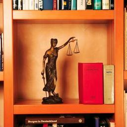 Bronze-Justitia