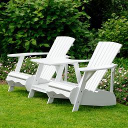 B-WARE !! Adirondack-Zweisitzer-Sessel