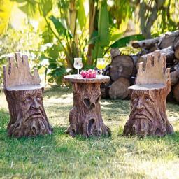 Naturgeist-Sitzgruppe (2 Sitze + 1 Tisch)