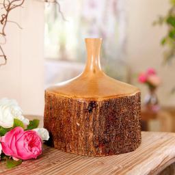 Holz-Vase Bayerischer Wald