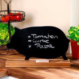 Schreibtafel Schwein