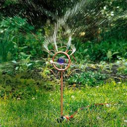 Bewässerung Wassersprinkler Blumenglück