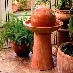 Wasserspiel Terracotta-Brunnen La Fonda
