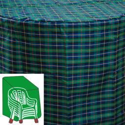 Stapelstuhl-Schutzhülle, grün