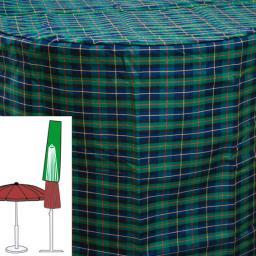 Sonnenschirm-Schutzhülle, grün
