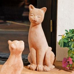Terracotta-Katze Cat