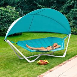 Lounge-Hängematte Mauritius mit Dach