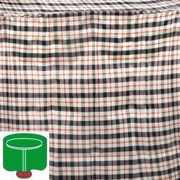 Tisch-Schutzhülle, beige, rund, klein