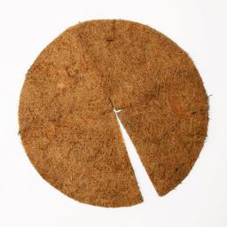 Kokos-Abdeckscheibe, 45 cm, Kokos, braun