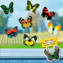 Dekosticker Schmetterlinge 3D, 12er-Set