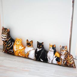 Zugluft-Stopp Katzenbande