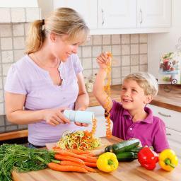 Gemüsespaghetti- & Spiralschneider Veggie Delight