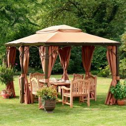 Garten pavillon luxury palace klein von g rtner p tschke for Insektenschutznetz garten