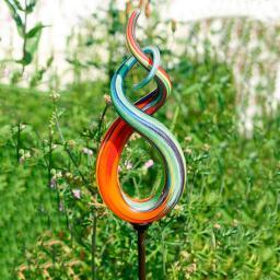 Glaskunst-Stecker High Fidelity inkl. Eisenstab