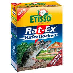 Etisso Rat-Ex Ratten- und Mäuse Haferflockenköder, 400 g