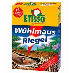 Etisso Wühlmaus-Riegel, 18 Riegel