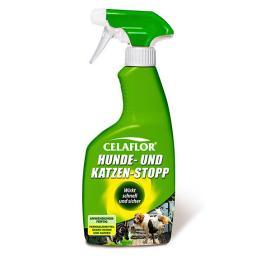 Celaflor Hunde- und Katzen-Stopp, 500 ml Sprühflasche