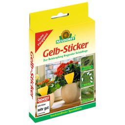 Gelb-Sticker, 10 Stück