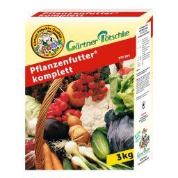 Pflanzenfutter komplett, 3 kg