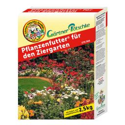 Gärtner Pötschke Pflanzenfutter für den Ziergarten, 2,5 kg