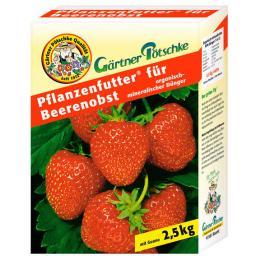 GP Pflanzenfutter® für Beerenobst, 2,5 kg