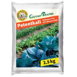 GP Patentkali, 2,5 kg für ca. 30 qm