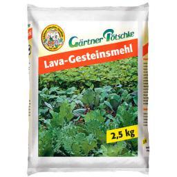 GP Lava-Gesteinsmehl, 2,5 kg für ca. 25 qm