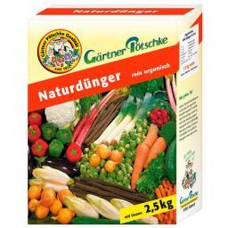 GP Naturdünger, 2,5 kg für ca. 60 qm