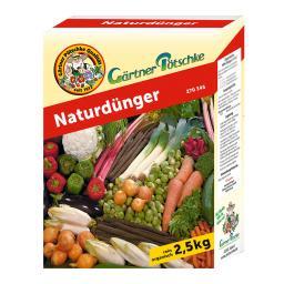 Gärtner Pötschke Naturdünger, 2,5 kg