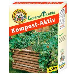 Gärtner Pötschke Kompost-Aktiv, 2,5 kg